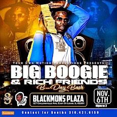 Big Boogie & Rich Friends B-Day Bash tickets