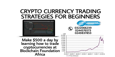 Cryptocurrency Trading Classes tickets