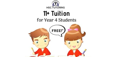 FREE 11+ Tuition - Year 4 Students tickets
