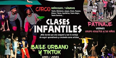 Baile urbano + coreografías de Tik Tok en Espacio Efimeral entradas
