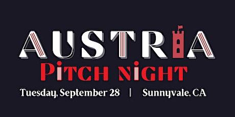 Austria Pitch Night: Fall 2021 tickets