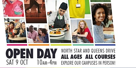 Queens Drive Campus Open Day - Saturday 9 October, 10am to 3pm tickets