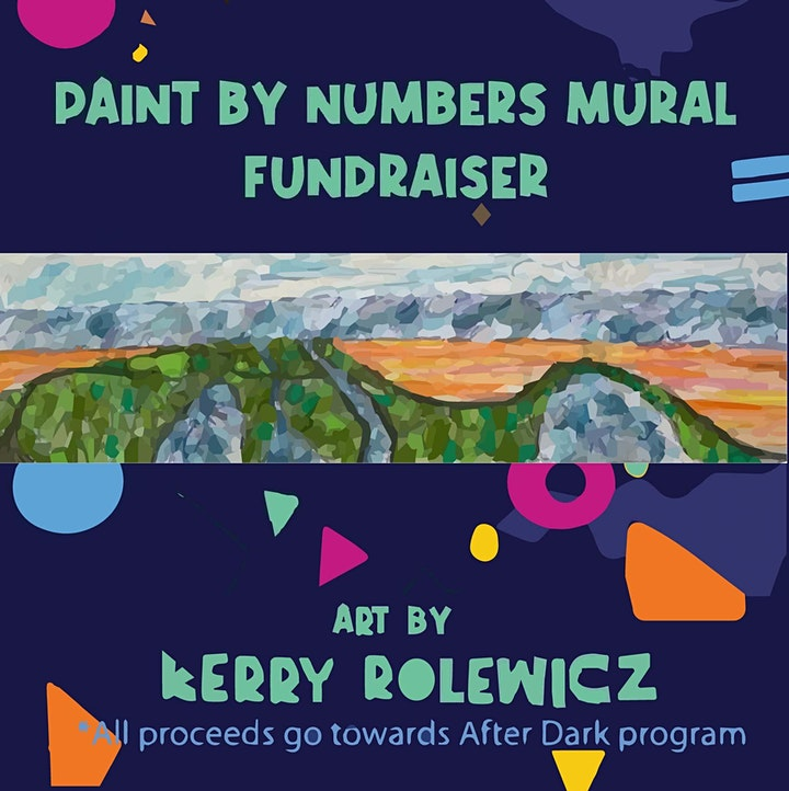 Paint By Numbers Mural image