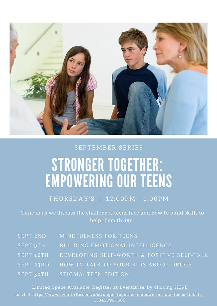 Stronger Together: Empowering Our Teens image