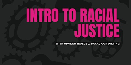 Intro to Racial Justice  with Udokam Iroegbu tickets