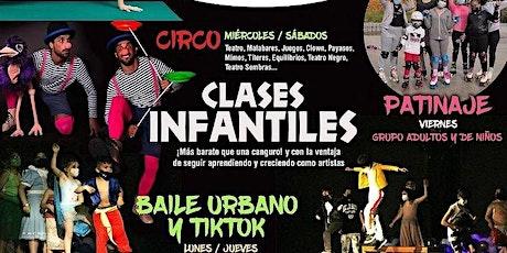 Circo: Malabares, clown, juegos, teatro en Espacio Efimeral (Infantil) entradas
