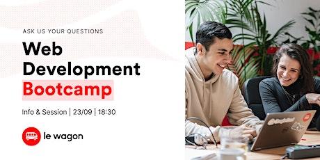 Web Development Bootcamp | Le Wagon LX Info Session tickets