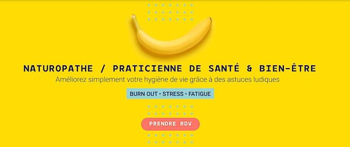 """Image pour ATELIER • Sortir du BURN OUT - Les astuces nutrition """"anti-stress"""""""