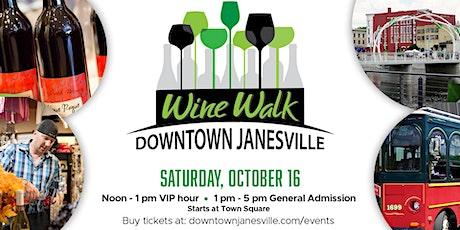 Downtown Janesville Wine Walk tickets