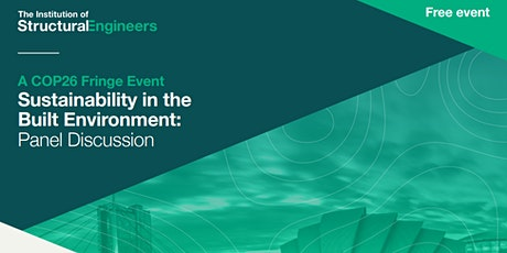 Sustainability in the Built Environment – Panel Discussion - online event tickets