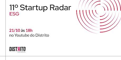 11º Startup Radar | ESG ingressos