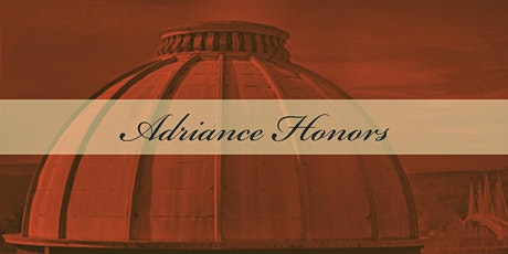 Adriance Honors 2021 tickets