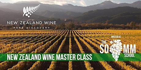 Wines of New Zealand Masterclass tickets