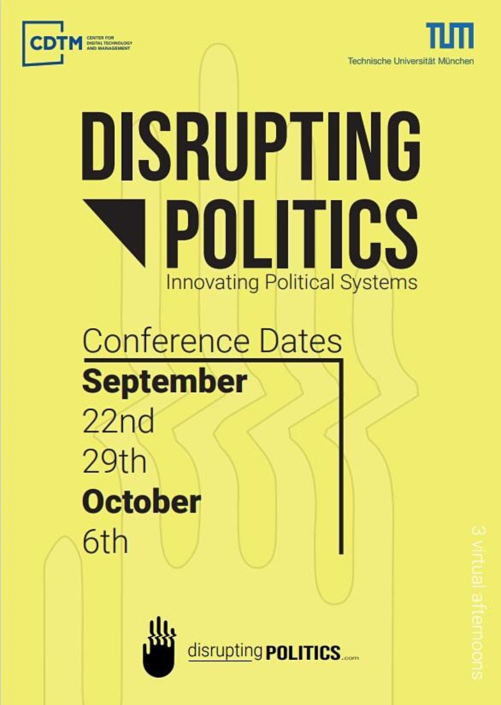Disrupting Politics: Day 1: Bild