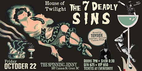 House Of Twilight Presents: Seven Deadly Sins, A Dark Cabaret tickets