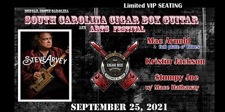 South Carolina Cigar Box Guitar Music and Arts festival tickets