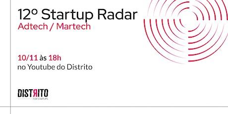 12º Startup Radar   Adtech & Martech ingressos
