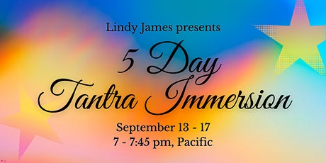 5 Day Tantra Immersion tickets