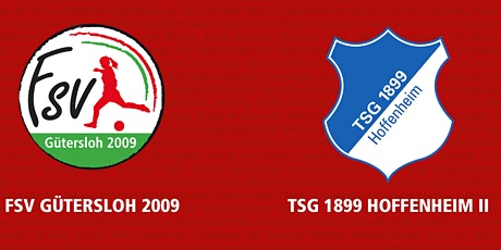 5. Spieltag 2.FBL: FSV Gütersloh - TSG Hoffenheim II Tickets