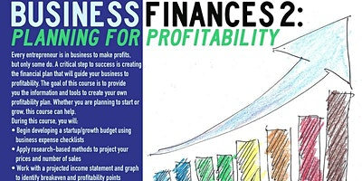 Business Finances 2: Planning for Profitability, Queens, 10/21/2021