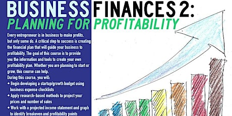 Business Finances 2: Planning for Profitability, Queens, 10/21/2021 tickets