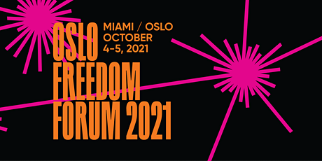 Oslo Freedom Forum 2021 - Livestream Mesh Youngstorget tickets