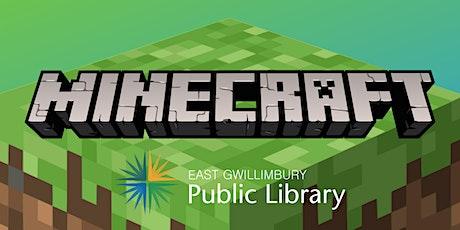 Minecraft Meetup tickets