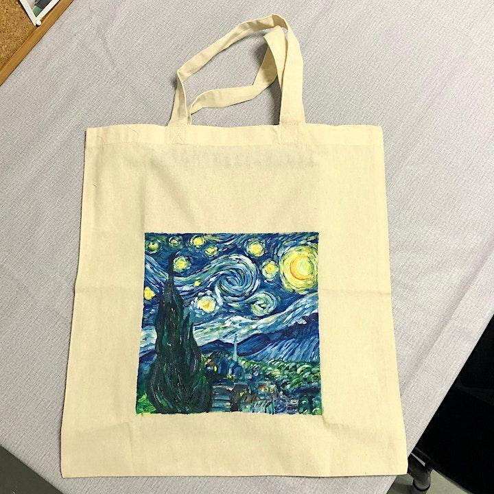 Tote Bag Painting Workshop image