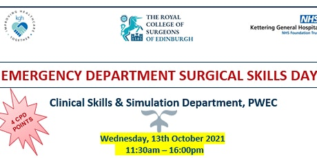 EMERGENCY DEPARTMENT SURGICAL SKILLS COURSE - UK Residents only tickets