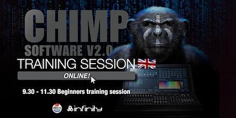 Chimp  Online Training English – Beginners tickets