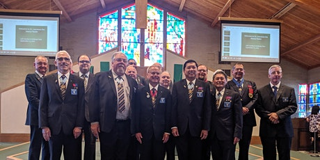KofC San Jose Chapter Installation of Officers tickets