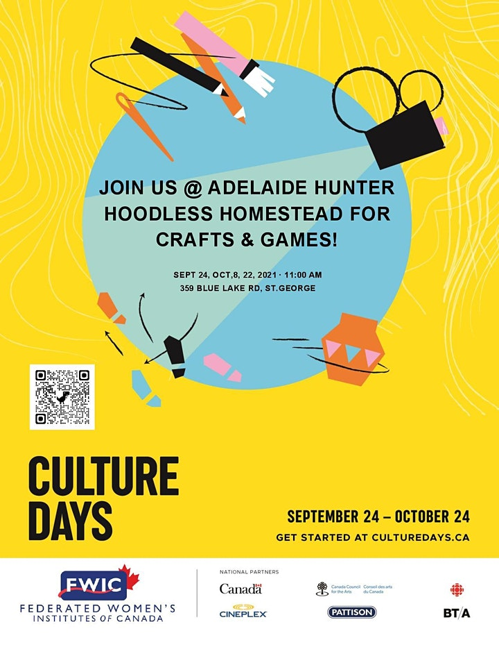 Culture Days at Addie's image