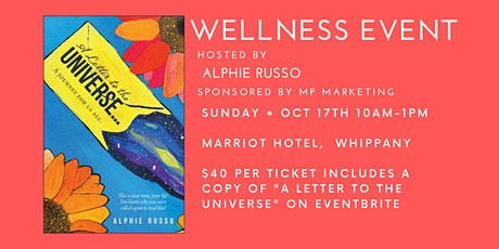 """""""A Letter to the Universe"""" Wellness Event tickets"""