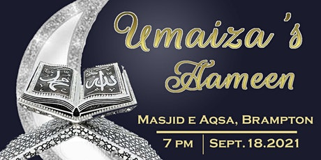 Umaiza's Aameen tickets