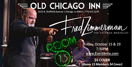 Fred Zimmerman | The Chicago Mentalist tickets