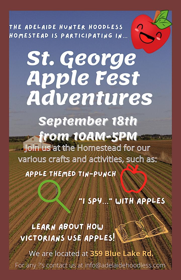 St. George Apple Fest Adventures at Addie's image