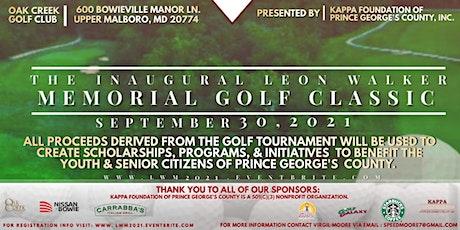 Leon Walker Memorial Golf Classic tickets