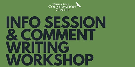 Comment Writing Workshop tickets