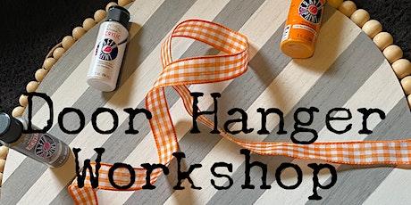 Door Hanger Workshop tickets
