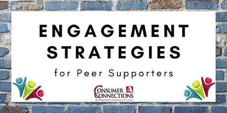 Engagement Strategies for Peer Supporters tickets