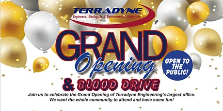 Grand Opening and Blood Drive tickets