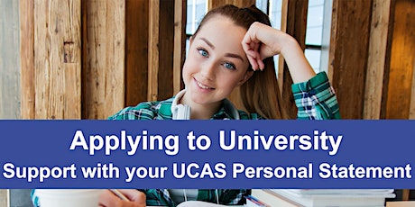 2022 UCAS Applications - Tailored Support with your Personal Statement tickets
