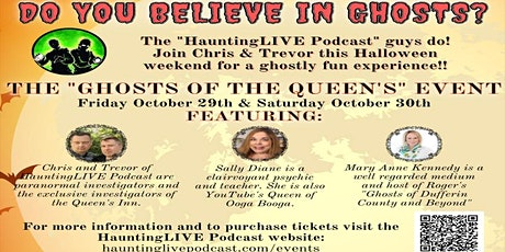 Ghosts of the Queens Inn Stratford 2021 tickets