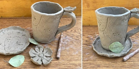 Hand-Building Ceramics: Cookie Platters & Hot Cocoa Mug (2-Day Workshop) tickets