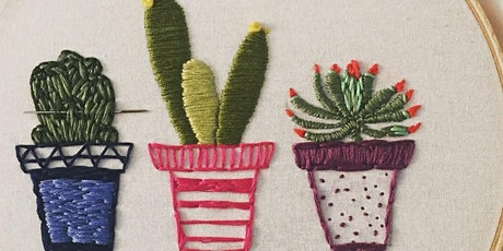 Winter Embroidery (1-Day Workshop) tickets