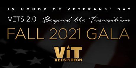 VetsinTech Virtual Gala 2021 tickets