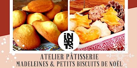 Atelier pâtisserie / découverte culturelle: madeleines et petits biscuits billets