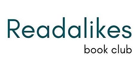 Readalikes Book Club tickets