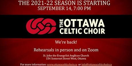 Ottawa Celtic Choir - Online Rehearsals September tickets