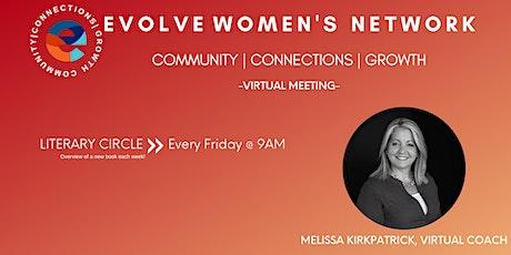 Evolve Women's Network: Literary Circle (Virtual) tickets